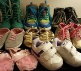 Selection of children's shoes