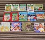 14x books for kids Collins etc