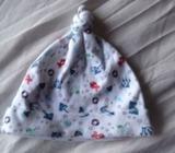 Next soft cotton hat 0-3