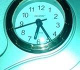 3 Silver clocks