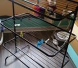 Ikea Mulig drying rack 3 levels black
