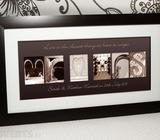Mr. & Mrs Personalised Extra Large Framed Print
