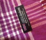 Gorgeous purple cashmere scarf