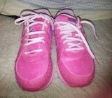 Brand new puma runners pink purple 6