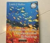 Management and organisational behaviour 5th ed mullins