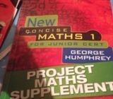 New concise maths 1 , JC supplement