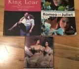 Romeo&juliet, pride&prejudice and king Lear