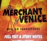 The merchant of Venice , full text and study notes
