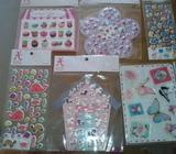 3D stickers bundle/ clearout sale