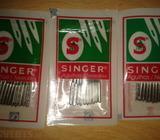 Packs of sewing machine needles