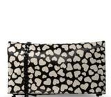 Alice & Olivia calf hair clutch/tote new