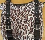 Barratts leopard print bag