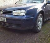 Volkswagen Golf 2001, 1,9 tdi, 6 speed gear box