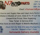 N7 Auto Parts - We Source & Supply New & Used Auto Parts , Nationwide Delivery Available