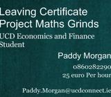 Maths Grinds for Leaving & Junior Cert Project Maths