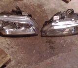 Nissan almera head lights 00 to 02