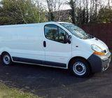 Renault Trafic Long Wheel Base 2006 1 Owner Very Clean Straight Van Tow Bar/Secure Tool Chest