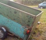 6×4 Steel trailer
