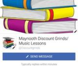 Grinds and music lessons