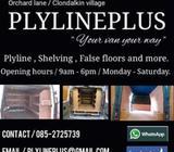 Van plylines and shelving