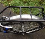 Aluminium folding bike - only used once